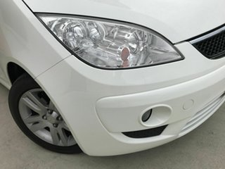 2010 Mitsubishi Colt RG MY11 VR-X White 5 Speed Constant Variable Hatchback