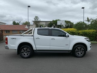 2016 Holden Colorado RG LTZ White 6 Speed Automatic Dual Cab.
