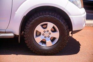 2014 Nissan Navara D40 S7 ST White 5 Speed Sports Automatic Utility