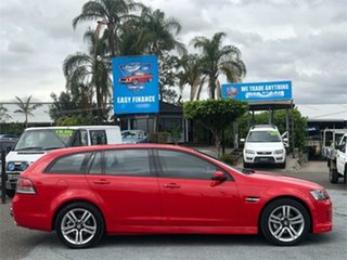 2008 Holden Commodore VE SV6 Red 5 Speed Sports Automatic Wagon.