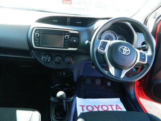2015 Toyota Yaris NCP130R MY15 Ascent 5 Speed Manual Hatchback