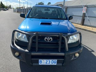 2009 Toyota Hilux KUN26R MY10 SR Blue 5 Speed Manual Cab Chassis