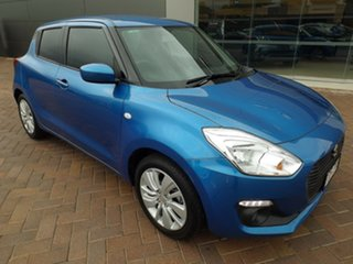 2019 Suzuki Swift AZ GL Blue 5 Speed Manual Hatchback.
