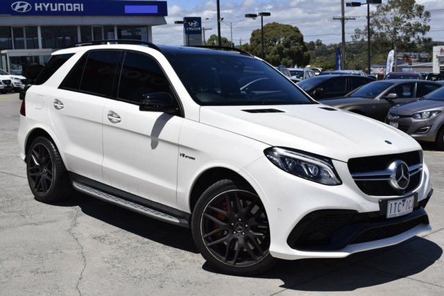 Used Mercedes-Benz GLE-Class C292 GLE63 AMG Coupe SPEEDSHIFT PLUS 4MATIC S Ferntree Gully, 2016 Mercedes-Benz GLE-Class C292 GLE63 AMG Coupe SPEEDSHIFT PLUS 4MATIC S White 7 Speed