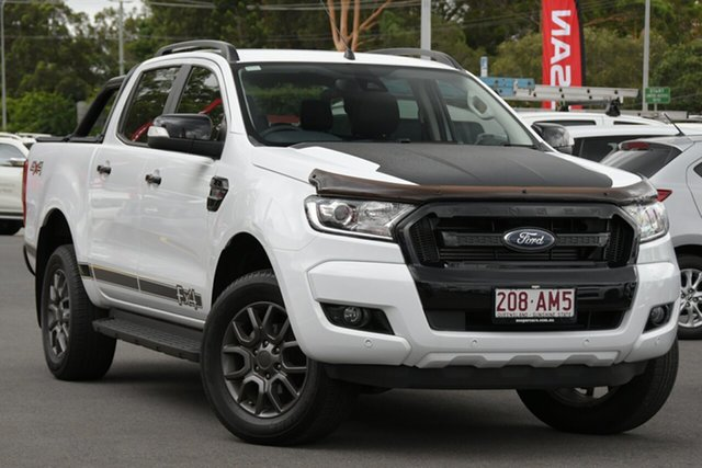 Used Ford Ranger PX MkIII 2019.00MY XLT Aspley, 2019 Ford Ranger PX MkIII 2019.00MY XLT White 6 Speed Sports Automatic Super Cab Pick Up