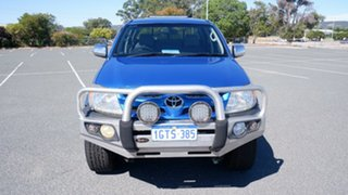 2006 Toyota Hilux GGN25R MY07 SR Blue 5 Speed Automatic Utility.