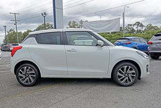 2020 Suzuki Swift AZ Series II GLX Turbo White 6 Speed Sports Automatic Hatchback