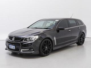 2013 Holden Commodore VF SS-V Black 6 Speed Automatic Sportswagon.