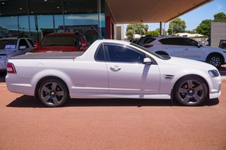 2011 Holden Ute VE II SS Thunder White 6 Speed Sports Automatic Utility.