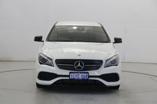 2017 Mercedes-Benz CLA-Class C117 808MY CLA200 DCT White 7 Speed Sports Automatic Dual Clutch Coupe
