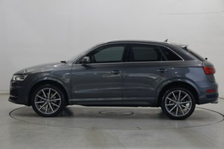 2017 Audi Q3 8U MY18 TDI S Tronic Quattro Sport Gunmetal Grey 7 Speed Sports Automatic Dual Clutch.