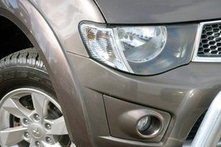 2012 Mitsubishi Triton MN MY13 GLX-R Double Cab Bronze 5 Speed Manual Utility