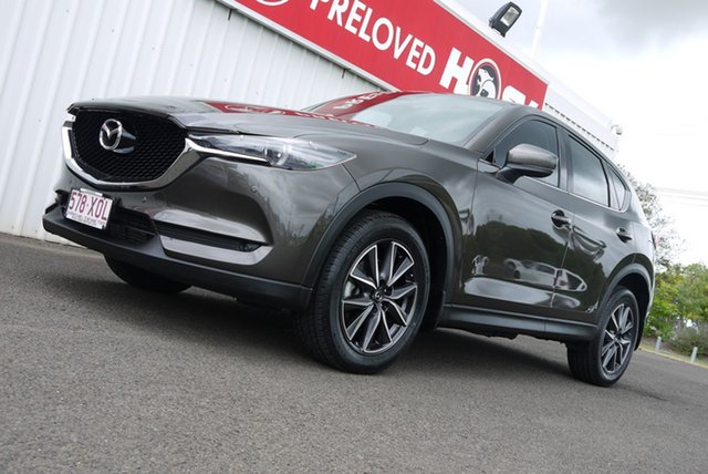 Used Mazda CX-5 KF4W2A GT SKYACTIV-Drive i-ACTIV AWD Bundaberg, 2017 Mazda CX-5 KF4W2A GT SKYACTIV-Drive i-ACTIV AWD Bronze 6 Speed Sports Automatic Wagon