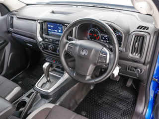2018 Holden Colorado RG MY19 LS (4x2) Blue 6 Speed Automatic Crew Cab Chassis