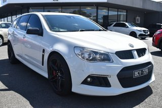 2013 Holden Special Vehicles ClubSport Gen-F MY14 R8 Tourer White 6 Speed Manual Wagon.