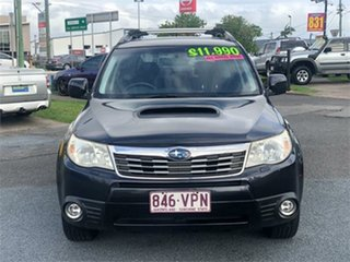2008 Subaru Forester S3 XT Black 4 Speed Sports Automatic Wagon.