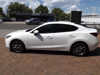 2016 Mazda 3 BN5238 SP25 SKYACTIV-Drive Astina White 6 Speed Sports Automatic Sedan