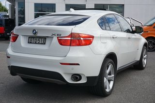 2010 BMW X6 E71 MY10.5 xDrive40d Coupe Steptronic White 8 Speed Sports Automatic Wagon