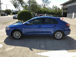 2011 Mitsubishi Lancer CJ MY11 SX Sportback Blue 6 Speed Constant Variable Hatchback