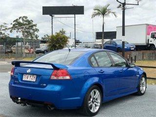 2008 Holden Commodore VE SV6 Blue 6 Speed Manual Sedan