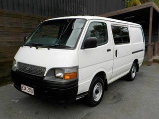 2003 Toyota HiAce RZH103R SWB White 4 Speed Automatic Van