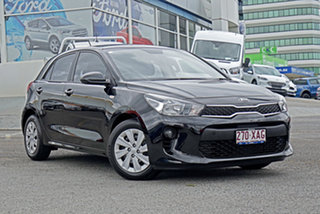 2016 Kia Rio YB MY17 S Black 6 Speed Manual Hatchback.