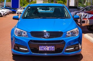 2014 Holden Commodore VF MY14 SS Storm Blue 6 Speed Sports Automatic Sedan.