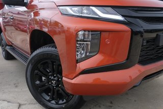 2020 Mitsubishi Triton MR MY21 GSR Double Cab Sunflare Orange 6 Speed Sports Automatic Utility.