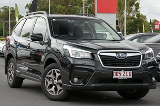 2019 Subaru Forester S5 MY20 2.5i-L CVT AWD Crystal Black Silica 7 Speed Constant Variable Wagon.