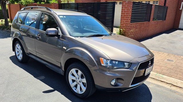 Used Mitsubishi Outlander ZH MY12 Activ (FWD) Prospect, 2012 Mitsubishi Outlander ZH MY12 Activ (FWD) Bronze 6 Speed CVT Auto Sequential Wagon