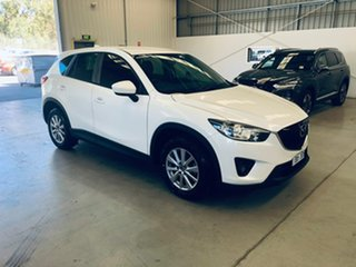 2014 Mazda CX-5 KE1071 MY14 Maxx SKYACTIV-Drive Sport White 6 Speed Sports Automatic Wagon.