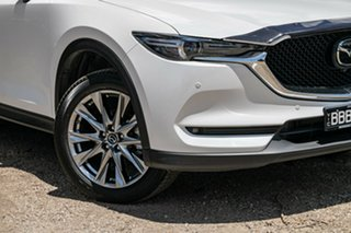 2019 Mazda CX-5 KF4WLA Akera SKYACTIV-Drive i-ACTIV AWD White 6 Speed Sports Automatic Wagon