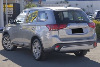 2019 Mitsubishi Outlander ZL MY20 ES 2WD Sterling Silver 6 Speed Constant Variable Wagon.