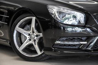2015 Mercedes-Benz SL-Class R231 805MY SL500 7G-Tronic + Black 7 Speed Sports Automatic Roadster