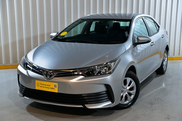 Used Toyota Corolla ZRE172R MY17 Ascent Hendra, 2018 Toyota Corolla ZRE172R MY17 Ascent Silver 7 Speed CVT Auto Sequential Sedan