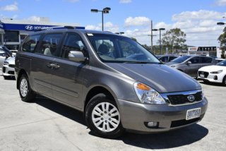 2010 Kia Carnival VQ MY11 S Grey 4 Speed Sports Automatic Wagon.