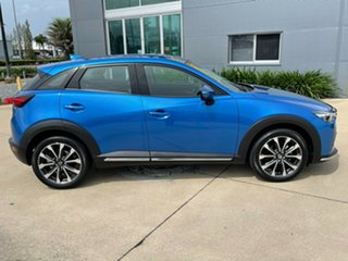 2019 Mazda CX-3 DK2W7A sTouring SKYACTIV-Drive FWD Blue 6 Speed Sports Automatic Wagon.