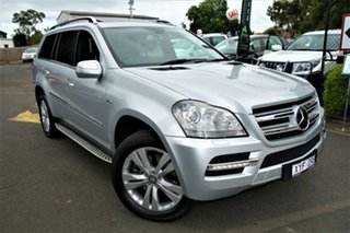 2010 Mercedes-Benz GL-Class X164 MY10 GL350 CDI Luxury Silver 7 Speed Sports Automatic Wagon.