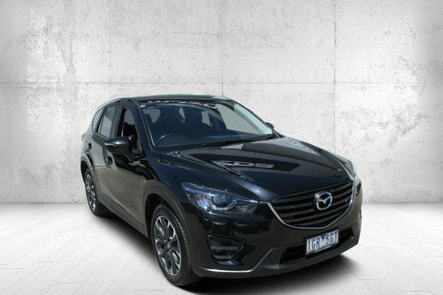 Used Mazda CX-5 KE1032 Grand Touring SKYACTIV-Drive AWD Bendigo, 2016 Mazda CX-5 KE1032 Grand Touring SKYACTIV-Drive AWD Black 6 Speed Sports Automatic Wagon