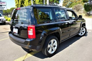 2013 Jeep Patriot MK MY2013 Sport CVT Auto Stick 4x2 Black 6 Speed Constant Variable Wagon.