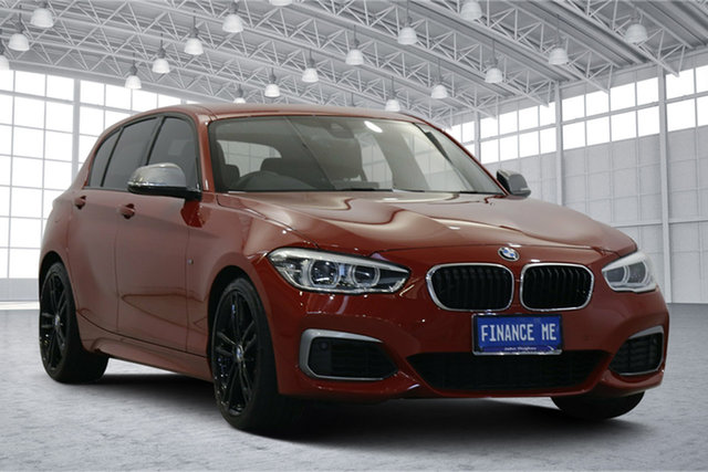 Used BMW 1 Series F20 LCI-2 M140i Victoria Park, 2018 BMW 1 Series F20 LCI-2 M140i Red 8 Speed Sports Automatic Hatchback