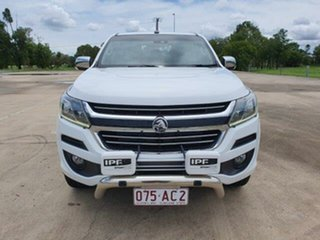 2016 Holden Colorado RG MY16 LTZ Crew Cab White 6 Speed Sports Automatic Utility.