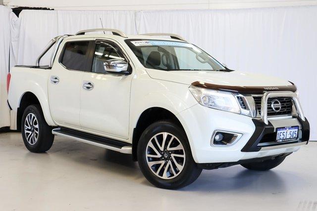 Used Nissan Navara D23 ST-X Wangara, 2015 Nissan Navara D23 ST-X White 7 Speed Sports Automatic Utility