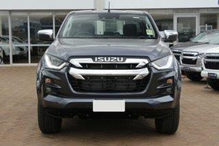 2021 Isuzu D-MAX RG MY21 LS-U (4x4) Obsidian Grey 6 Speed Auto SEQ Sports Mode Crew Cab Utility