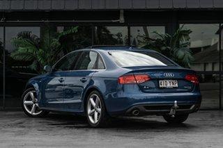 2010 Audi A4 B8 8K MY10 S Tronic Quattro Blue 7 Speed Sports Automatic Dual Clutch Sedan.