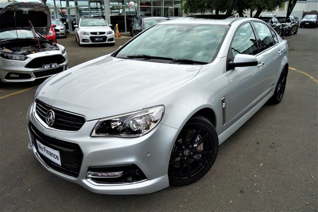 Used Holden Commodore VF MY14 SS V Redline Seaford, 2013 Holden Commodore VF MY14 SS V Redline Silver 6 Speed Sports Automatic Sedan