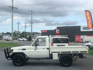 1990 Toyota Landcruiser HJ75RP (4x4) White 5 Speed Manual Cab Chassis