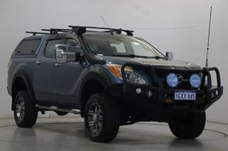 2014 Mazda BT-50 UP0YF1 GT Grey 6 Speed Sports Automatic Utility