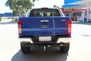 2015 Ford Ranger PX MkII XLT 3.2 (4x4) Blue 6 Speed Automatic Double Cab Pick Up
