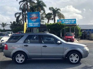 2006 Ford Territory SY Ghia Grey 6 Speed Sports Automatic Wagon.
